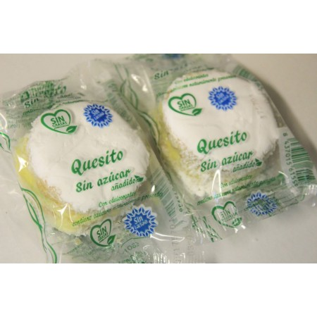 Quesitos sin azúcar. Sin lactosa